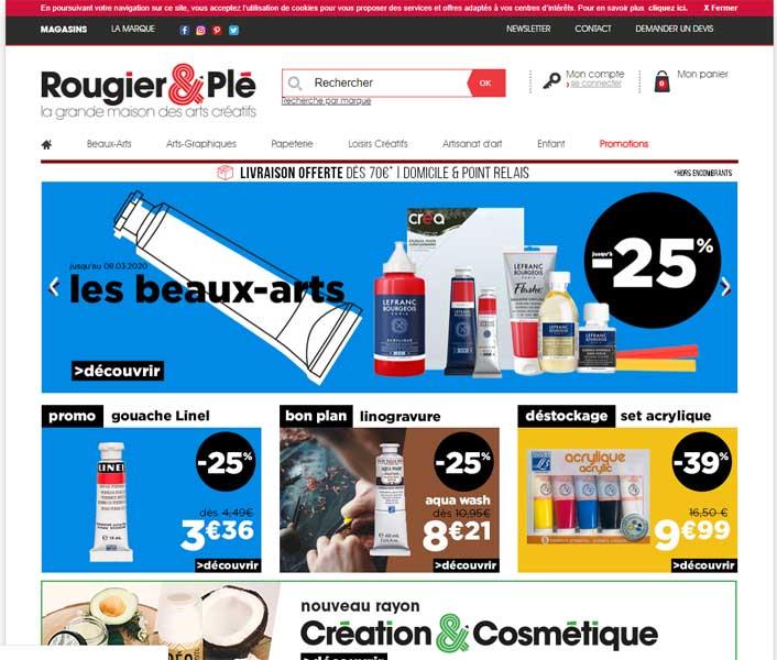 Rougier et Plé Lyon : des matériels d'art